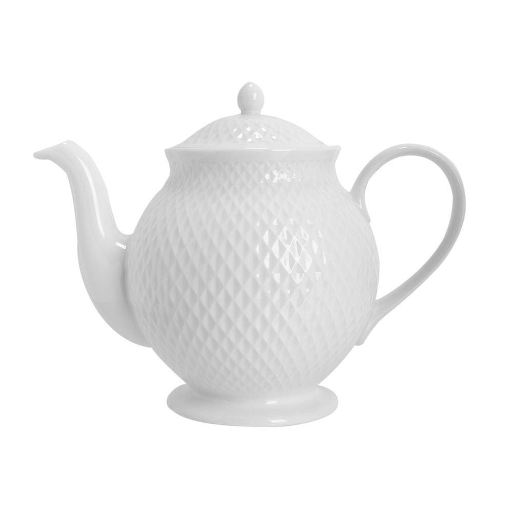 Bule Chá Eclat Branco 1 L - Home Style