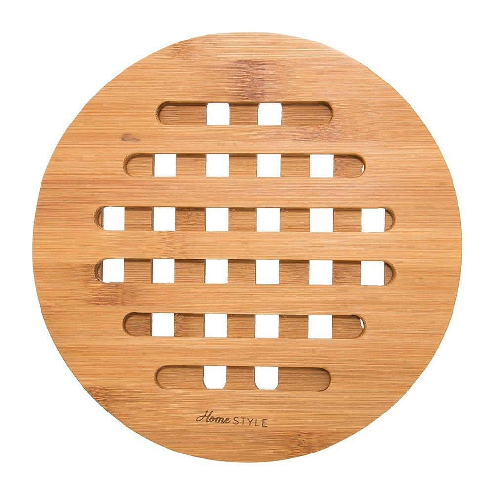 Descanso de Panela Redondo Bambus 17 cm - Home Style