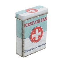 Caixa Organizadora Pocket First Aid 7 cm x 9 cm - Home Style