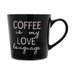 Caneca de Porcelana My Coffee 425ml - Home Style