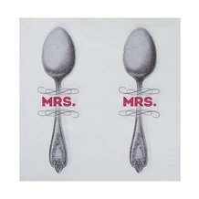 Guardanapo de Papel Mrs Spoon 33 cm x 33 cm c/20 - Home Style