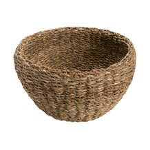 Cesta Seagrass Round Natural 39cm - Home Style