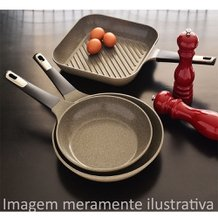Frigideira Grill Marble 28 cm - Neoflam