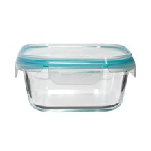 Pote Hermético Quadrado Cloc Glass My Storage 800 ml - Neoflam