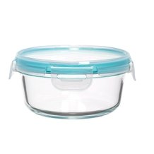 Pote Hermético Redondo Cloc Glass My Storage 400 ml - Neoflam