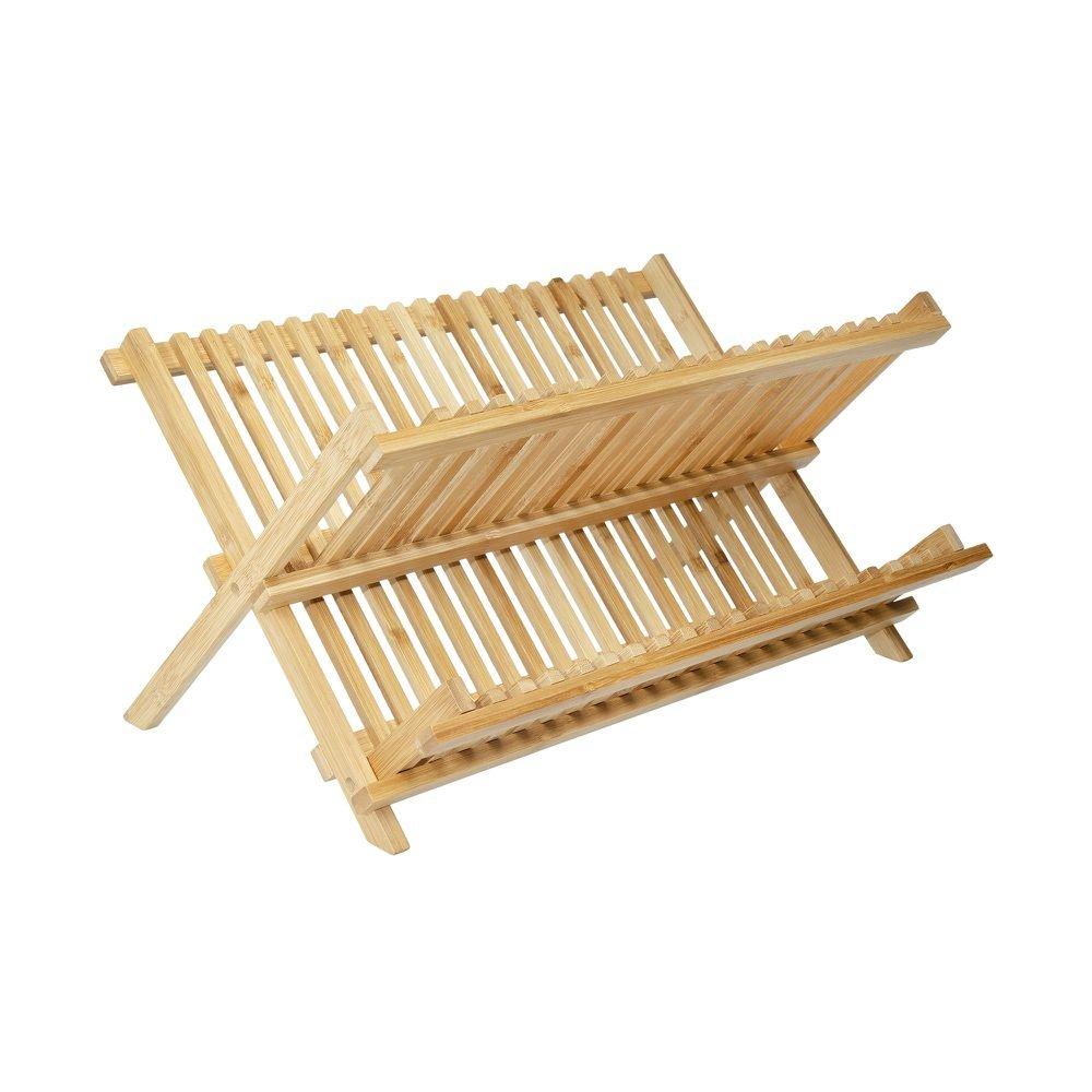 Escorredor de Louça Bambu 43 cm x 33 cm - Home Style