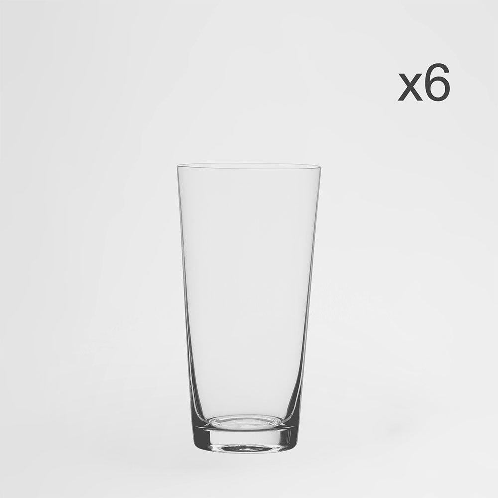 Jogo de Copos Altos Jive Cristal Eco 400 ml 6 Peças - Bohemia