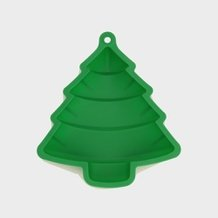 Forma de Bolo Magic Tree Verde 25 cm x 28 cm - Home Style