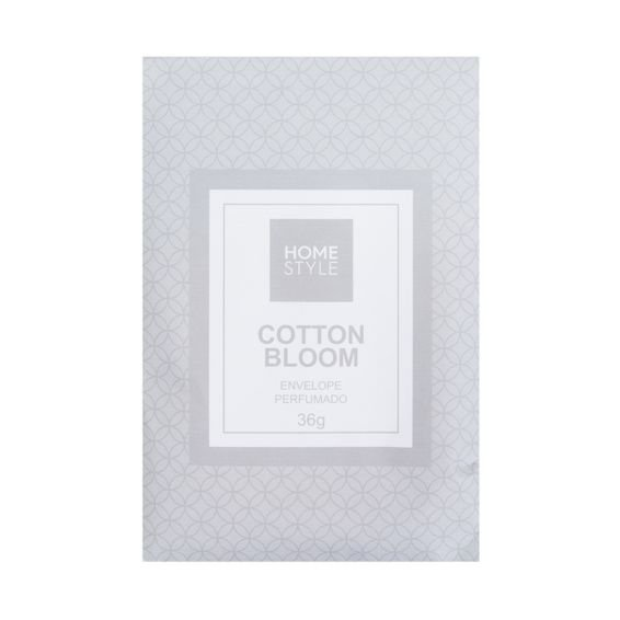 Envelope Perfumado Cotton Bloom 36 g - Home Style