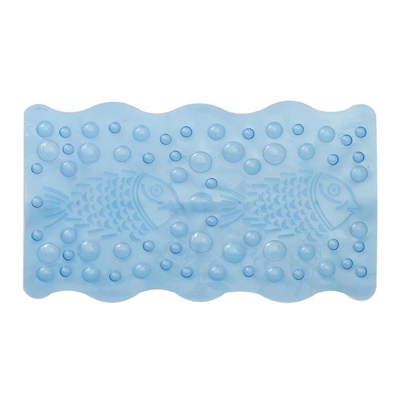 Tapete para Box Bubble Azul 36x61cm