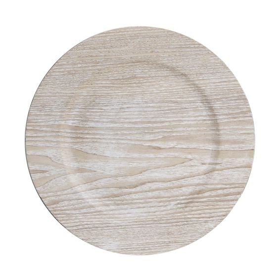 Sousplat Wood 33 cm - Home Style