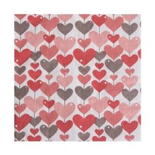 Guardanapo de Papel I Love You 33 cm x 33 cm c/20 - Home Style