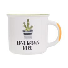 Caneca Love Grows 370 ml - Home Style
