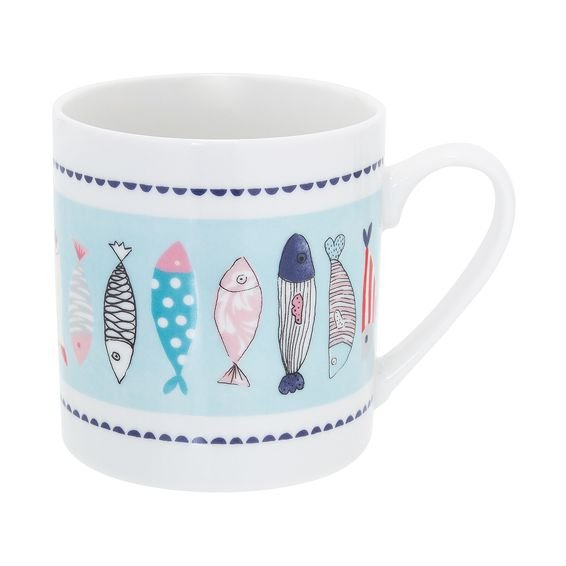 Caneca Fishes 330 ml - Home Style