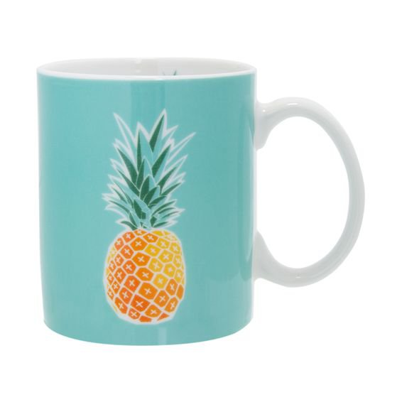Caneca Tropicool Abacaxi 340 ml - Home Style