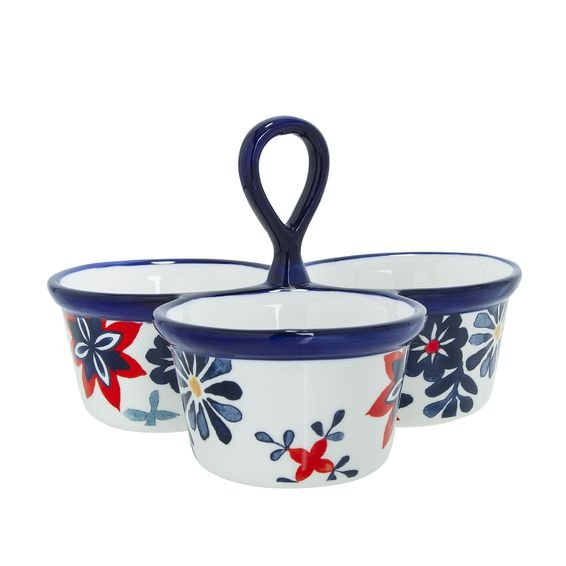 Petisqueira Navy Blossom - Home Style