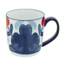 Caneca Navy Blossom Full 375 ml - Home Style