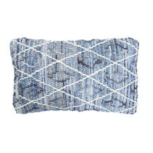 Capa de Almofada Beach & Country Denim 50 cm x 30 cm - Home Style