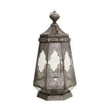 Lanterna Decorativa Beach & Country Luz 47 cm - Home Style