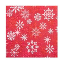 Guardanapo de Papel Noel Snow 33 cm x 33 cm c/20 - Home Style