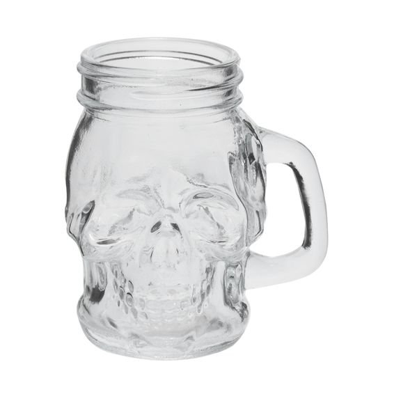 Caneca Skull Head 110 ml