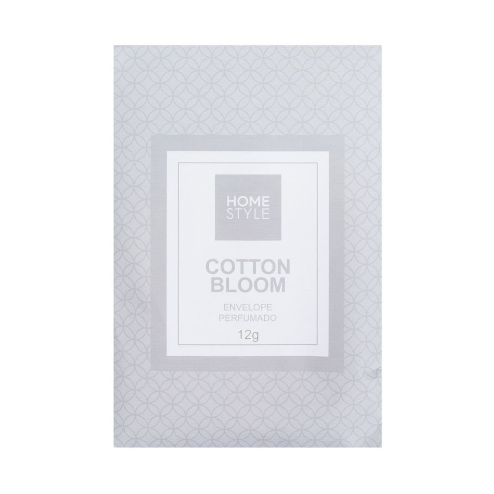 Envelope Perfumado Cotton Bloom 12 G - Home Style