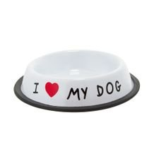 Comedouro I Love My Dog 475 ml - Home Style