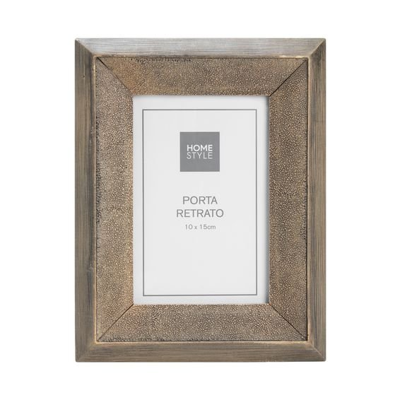 Porta-Retrato Explorer Timber 10 cm x 15 cm - Home Style