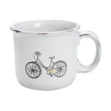 Caneca Botanic Old Bike 450 Ml - Home Style