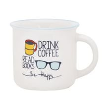 Caneca Be Happy 370 Ml - Home Style