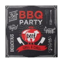 Guardanapo de Papel BBQ Party 33 cm x 33 cm c/20 - Home Style