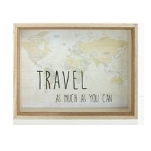 Cofre Travel World 26 cm x 20 cm