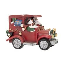 Carro Musical Papai Noel Led Magic 15 cm - Home Style