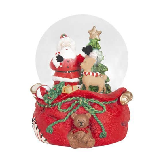 Globo Decorativo Magic Santas Bear 6 cm - Home Style