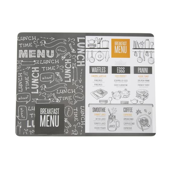 Lugar Americano Lunch Time 30 cm x 40 cm – Home Style