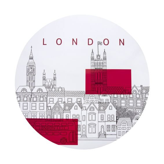 Lugar Americano City London 38 cm – Home Style