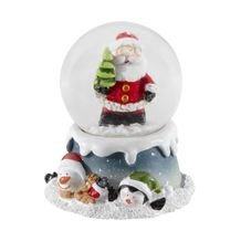 Globo Decorativo Papai Noel Árvore Magic 8 cm - Home Style