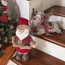 Boneco Decorativo Rena Magic Reindeer 20 cm - Home Style