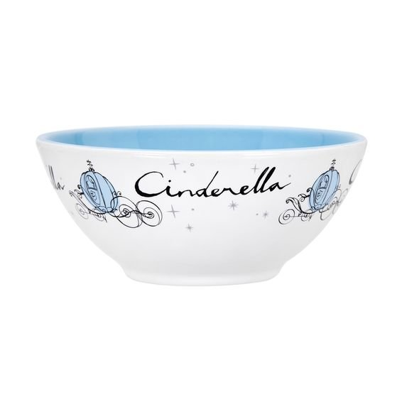 Tigela Royal Princess Cinderela 16 cm - Home Style
