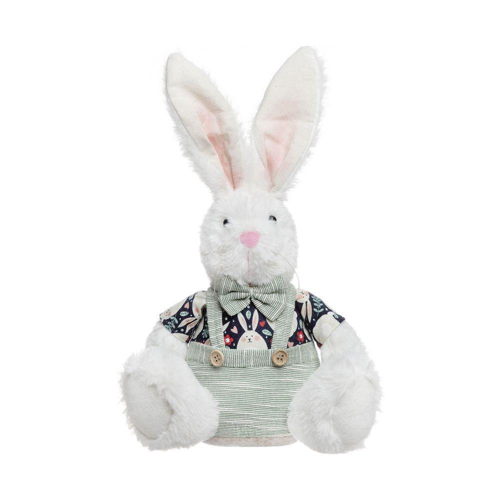 Coelho Decorativo Sentado Funny Bunny 36 cm - Home Style