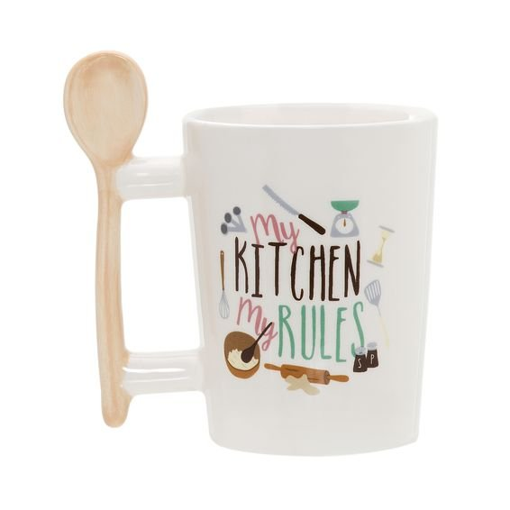 Caneca Kitchen Rules 360 ml - Dynasty