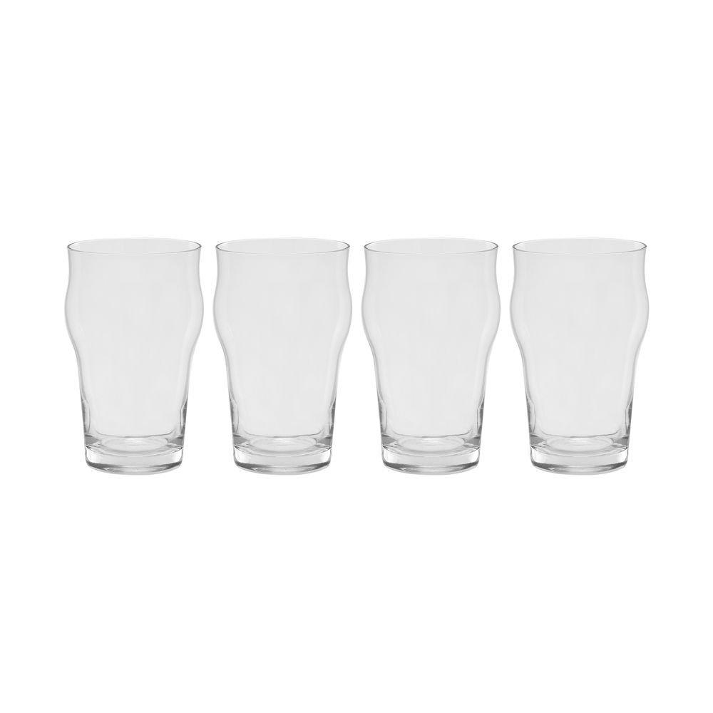 Jogo de Copo de Cerveja Humle 400 ml 4 Peças