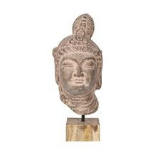 Máscara Decorativa Gypset Buddah 16 cm x 38 cm - Home Syte