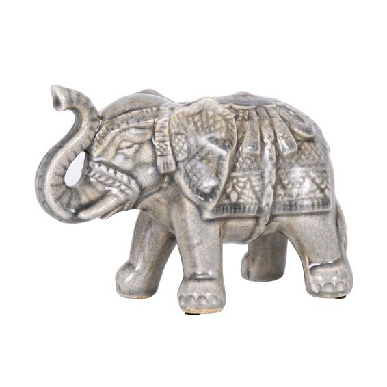 Elefante Decorativo Element Agarak 20 cm - Home Style