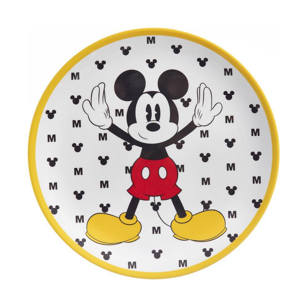 Prato para Sobremesa Mickey Ícones 20 cm - Home Style