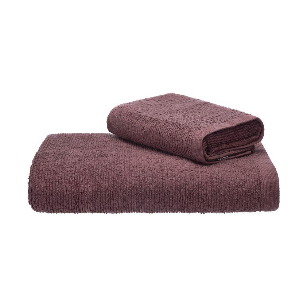 Jogo Toalhas de Banho e Rosto Colors 2 Peças - Home Style
