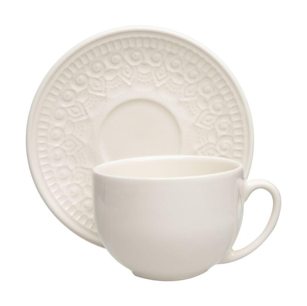 Xícara de chá Agra 260 ml - Porto Brasil