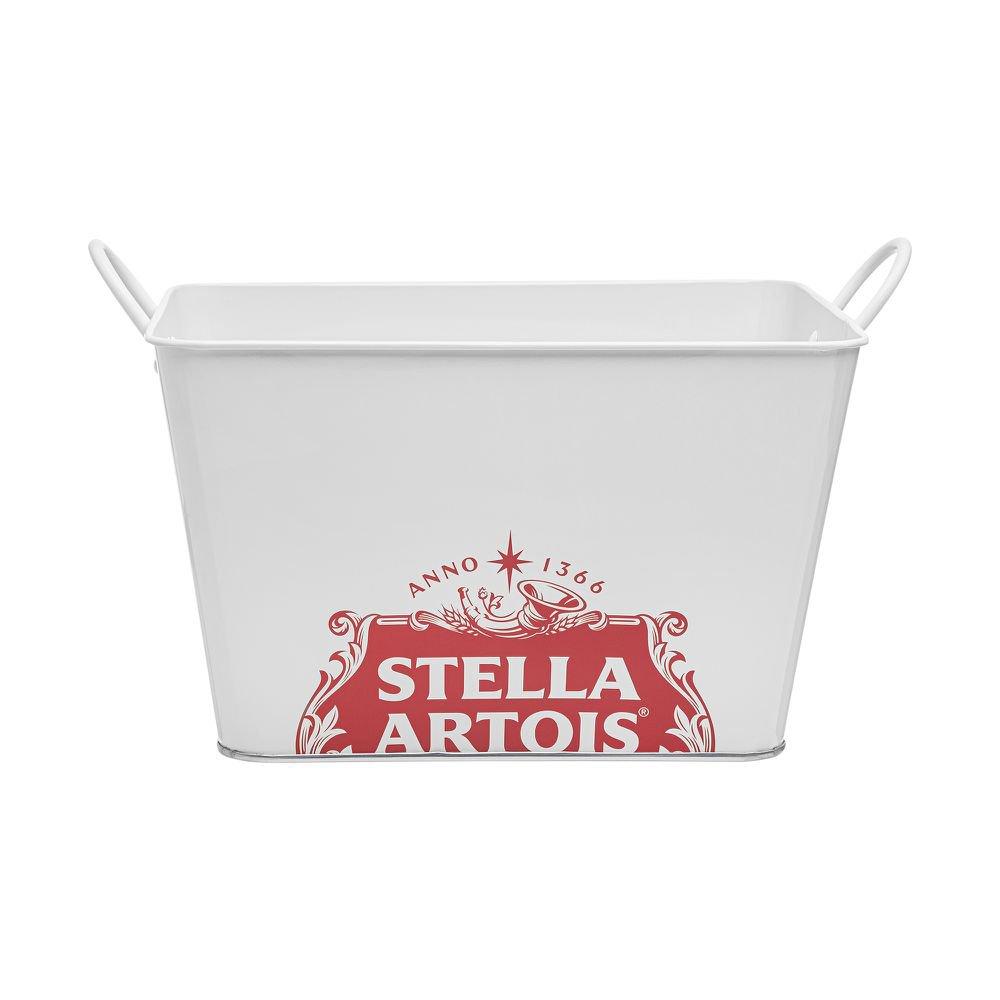 Balde Gelo Stella Artois 5 L  28 x 17 x 18 CM