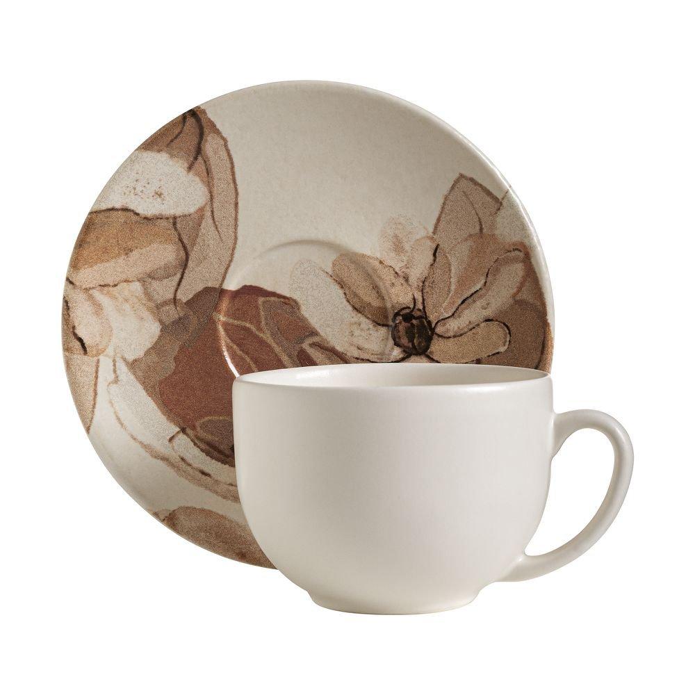Xícara de Chá Terraflora 360 ML   Home Style